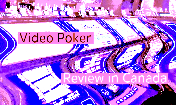 Videopoker in Canada – Online Games
